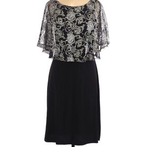 Macy's Connected Apparel Floral Cocktail Dress